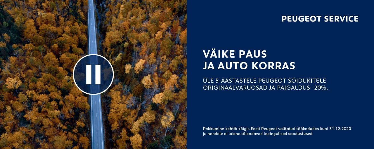 Peugeot hooldus