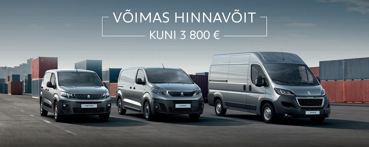 Peugeot tarbesõidukid