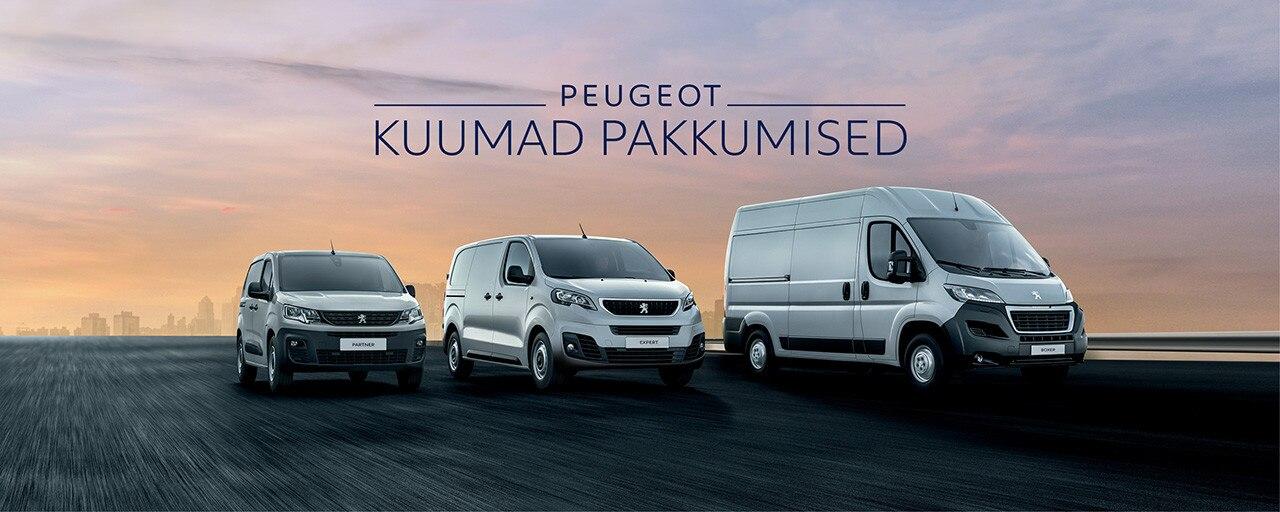 Peugeot tarbesõidukite pakkumised